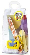 Kup Zestaw do manicure dla dzieci, 4021-1, 4 sztuki, żółty - Tweezerman Baby Manicure Kit