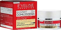 Kup Przeciwzmarszczkowy krem-serum intensywnie wygładzający do twarzy 35+ - Eveline Cosmetics Ekspert Expert Rejuvenation Cream Serum