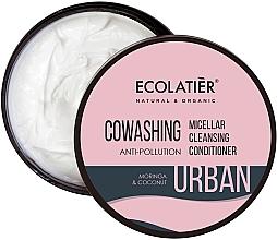 Kup Micelarna odżywka oczyszczająca do włosów Moringa i kokos - Ecolatier Urban Micellar Cleansing Conditioner