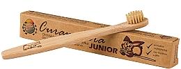 Kup Bambusowa szczoteczka do zębów dla dzieci, miękka - Curanatura Bamboo Junior