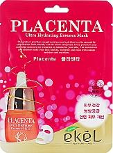 Kup Przeciwstarzeniowa maska w płachcie - Ekel Placenta Ultra Hydrating Essence Mask