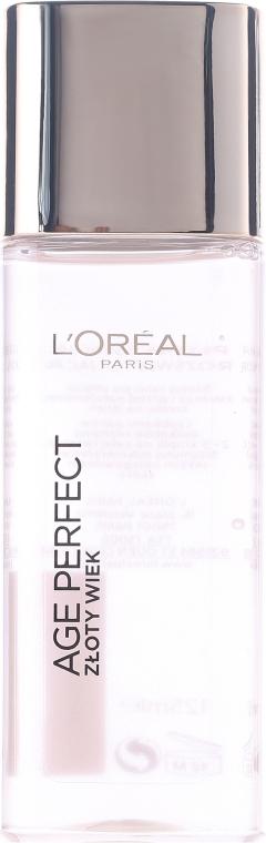 Płynna esencja rozświetlająca do twarzy Złoty wiek 60+ - L'Oreal Paris Age Perfect Golden Age Glow Re-Activating Essence — фото N2