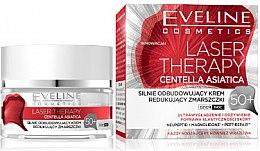 Kup Silnie odbudowujący krem redukujący zmarszczki 50+ - Eveline Cosmetics Laser Therapy Centella Asiatica