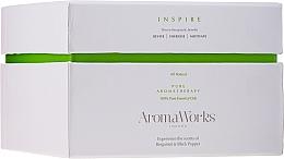 Kup Świeca zapachowa Inspire z 3 knotami - AromaWorks Harmony Candle 3-wick