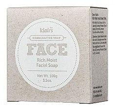 Kup Nawilżające mydło w kostce do twarzy - Klairs Rich Moist Facial Soap