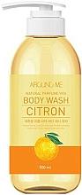 Kup Żel pod prysznic z ekstraktem z cytrusów - Welcos Around Me Natural Perfume Vita Body Wash Citron