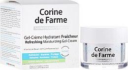 Kup Odświeżający nawilżający żel-krem do skóry normalnej i mieszanej - Corine de Farme