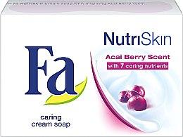 Kup Kremowe mydło kosmetyczne w kostce Jagody acai - Fa NutriSkin Caring Cream Soap