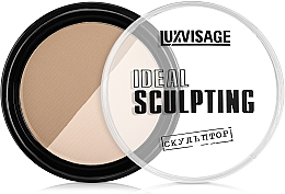 Puder brązujący do twarzy - Luxvisage Ideal Sculpting — фото N2