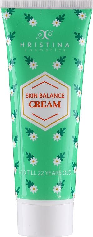 Krem równoważący do twarzy - Hristina Cosmetics Skin Balance Cream — фото N1
