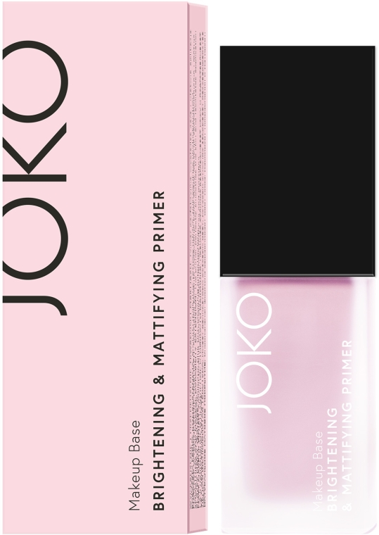 Rozjaśniająco-matująca baza pod makijaż - Joko Brightening & Mattifying Primer