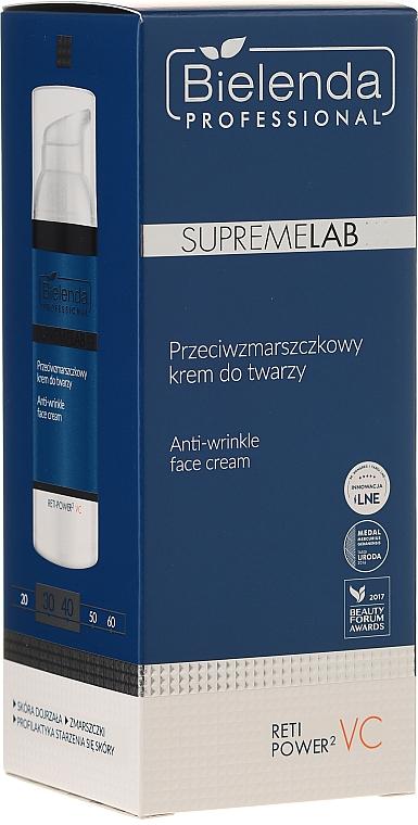 Przeciwzmarszczkowy krem do twarzy - Bielenda Professional SupremeLab Reti Power2 VC — фото N1
