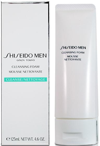 Pianka oczyszczająca do twarzy dla mężczyzn - Shiseido Men Cleansing Foam — фото N1