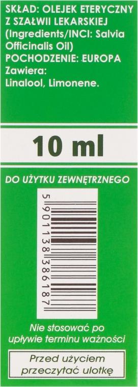Naturalny olejek z szałwii lekarskiej - Etja — фото N3