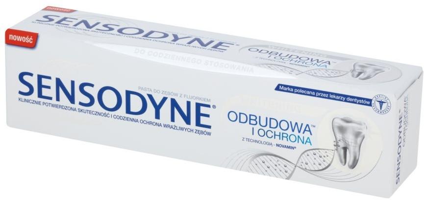 Wybielająca pasta do zębów Odbudowa i ochrona - Sensodyne Repair & Protect Whitening