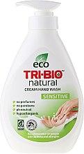 Kup Naturalne mydło w płynie do rąk - Tri-Bio Natural Cream Hand Wash