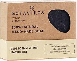 Kup 100% naturalne mydło ręcznie robione Brzozowy węgiel i masło shea - Botavikos Hand-Made Soap