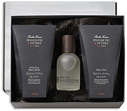 Kup Bath House Spanish Fig and Nutmeg - Zestaw (edc 100 ml + shave/gel 100 ml + shave/balm 100 ml)