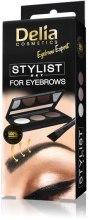 Kup Zestaw do stylizacji brwi - Delia Cosmetics Eyebrow Expert Stylist Set