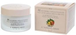 Kup Maska do twarzy z kwasami owocowymi - L'Erbolario Maschera Vellutante Acidi Dolci della Frutta