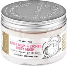 Kup Łagodząca maska do ciała Kozie mleko i liczi - Organique Professional Spa Therapie Goat Milk & Lychee Body Mask