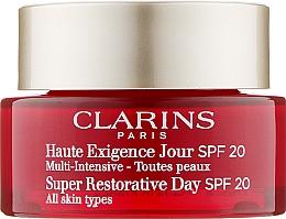 Kup Intensywnie regenerujący krem na dzień do każdego typu cery - Clarins Super Restorative Day Cream SPF 20