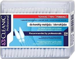 Kup Patyczki kosmetyczne do makijażu, 200 szt. - Cleanic Professional