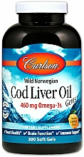Kup Suplement diety Olej z dorsza, 460 mg - Carlson Labs Cod Liver Oil Gems