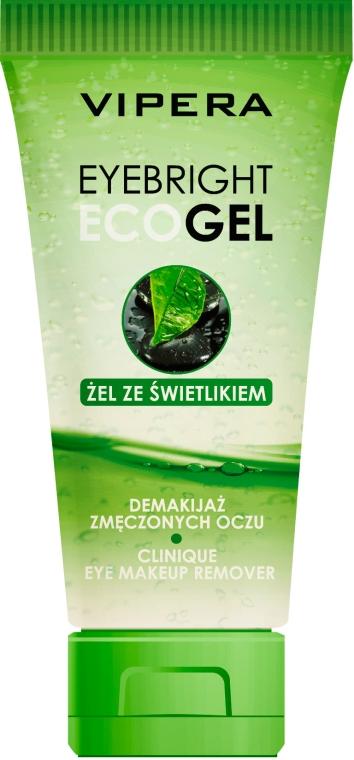 Żel ze świetlikiem do demakijażu zmęczonych oczu - Vipera EyeBright Eco Gel