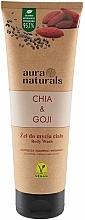 Kup Żel do mycia ciała Chia i jagody goji - Aura Naturals Chia & Goji Body Wash