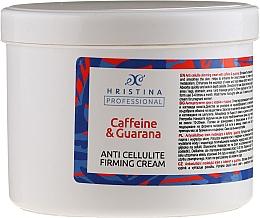 Kup Antycellulitowy krem z kofeiną i guaraną - Hristina Professional Caffein & Guarana Anti Cellulite Firming Cream