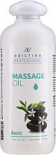Kup Olejek do masażu ciała - Hristina Professional Basic Massage Oil