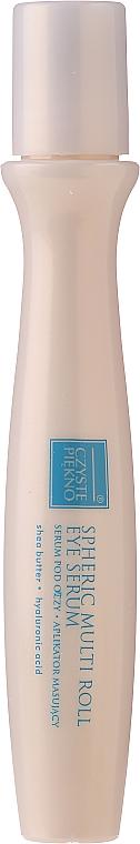 Serum pod oczy z aplikatorem masującym Źródło młodości - Czyste Piekno Active Lifting Eye Serum Cream Massaging Roll On