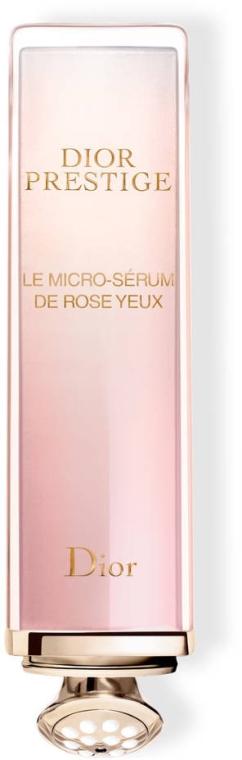 Różane serum do skóry wokół oczu - Dior Prestige Micro-Nutritive Rose Eye Serum — фото N2
