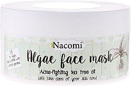 Kup Algowa maska przeciwtrądzikowa do twarzy Zielona herbata - Nacomi Algae Face Mask