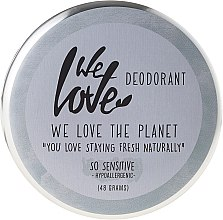 Kup Naturalny delikatny kremowy dezodorant - We Love The Planet Deodorant So Sensitive