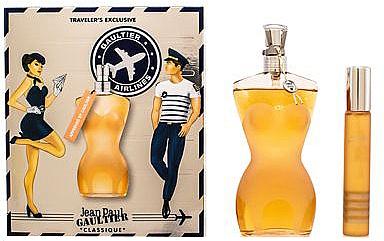 Jean Paul Gaultier Classique - Zestaw (edt 100 ml + edt 20 ml) — фото N1