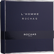 Kup Rochas L'Homme Rochas - Zestaw (edt/100ml + sh/gel/100 + ash/b/100ml)
