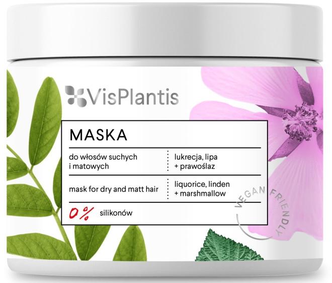 Maska do włosów suchych i matowych - Vis Plantis