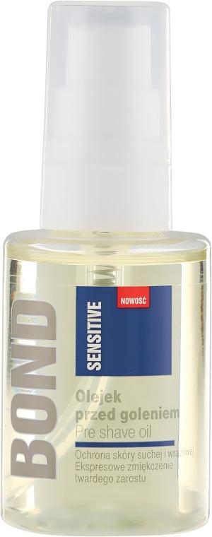 Olejek przed goleniem - Bond Sensitive Pre Shave Oil — фото N2