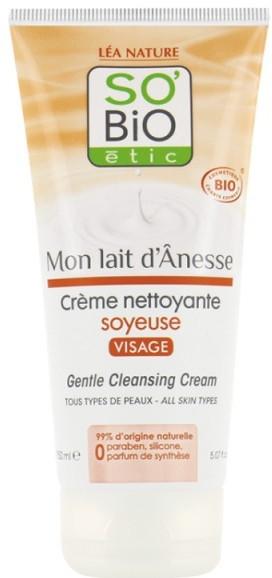 Oczyszczający krem do twarzy - So'Bio Etic Gentle Cleansing Cream — фото N1