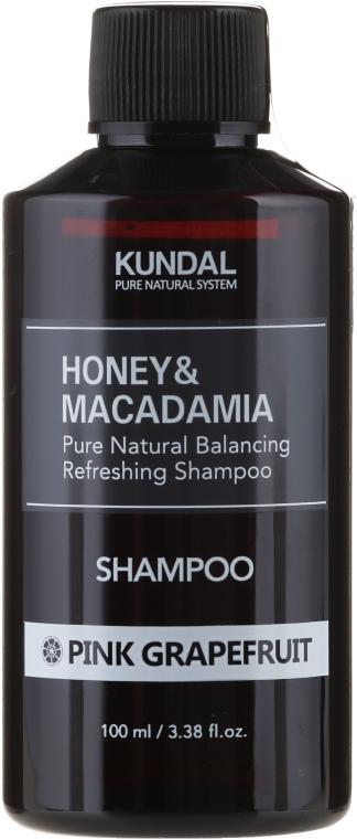 Balansująco-odświeżający szampon do włosów Różowy grejpfrut - Kundal Honey & Macadamia Pink Grapefruit Shampoo — фото N1
