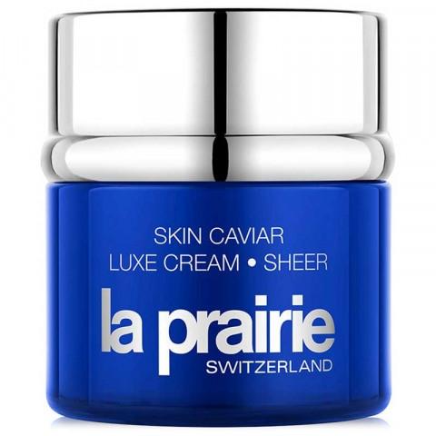Lekki wzmacniający krem liftingujący do twarzy - La Prairie Skin Caviar Luxe Cream Sheer — фото N1