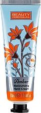 Kup Nawilżający krem do rąk Bursztyn - Beauty Formulas Amber Moisturising Hand Cream