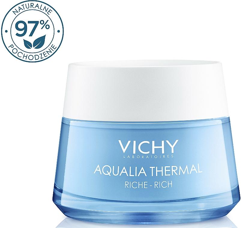 Bogaty krem intensywnie nawilżający do skóry suchej i bardzo suchej - Vichy Aqualia Thermal Rich Cream — фото N1