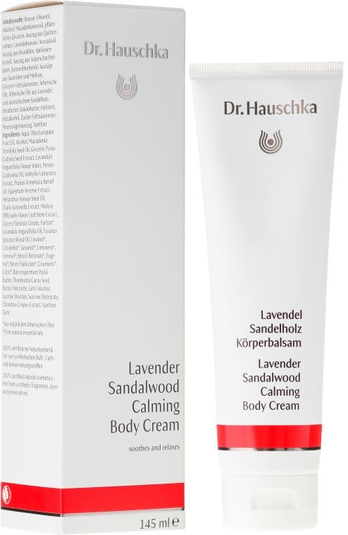 Balsam do ciała Lawenda i drzewo sandałowe - Dr. Hauschka Lavender Sandalwood Calming Body Cream — фото N1