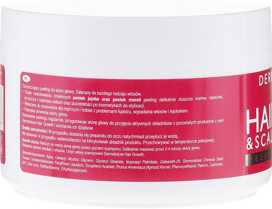 Oczyszczający peeling do skóry głowy - DermoFuture Hair&Scalp Peeling — фото N3