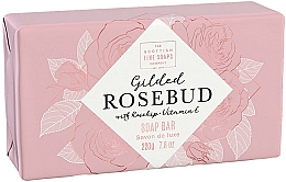 Kup Mydło do ciała Pąk róży - Scottish Fine Soap Gilded Rosebud Luxury Wrapped Soap