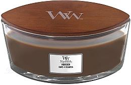 Kup Świeca zapachowa w szkle - WoodWick Humidor Ellipse Scented Candle