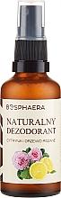 Kup Naturalny dezodorant Cytryna i drzewo różane - Bosphaera